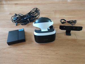 PS4 VR Headset and Camera for Sale in Arlington Heights, IL