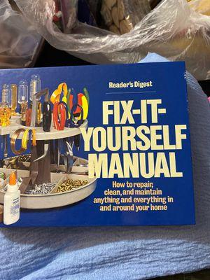 Fix it yourself manual book for Sale in Redondo Beach, CA