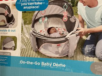 New-Fisher Price On The Go Baby Dome-Girl for Sale in Woodbridge Township,  NJ