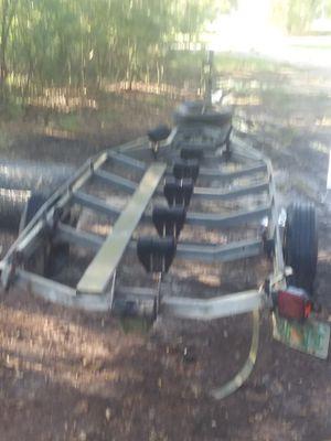 16ft galvanized boat trailer for Sale in Kiln, MS