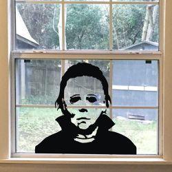 Brand New Halloween Holiday Decals Michael Myers Horror Living Room Sticker Funny Door Window Mirror Vinyl Art for Sale in Queens,  NY