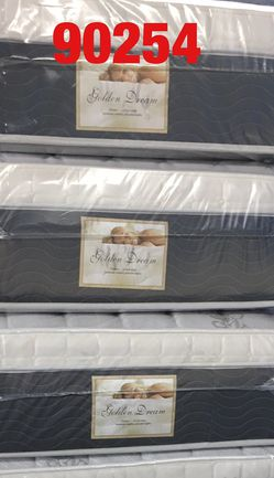 """12"""" thick pillow top mattress. Twin Mattress only-$185 Mattress & box spring-$220 Full Mattress only-$255 Mattress and box spring-$285 Queen Matt for Sale in Redondo Beach,  CA"""