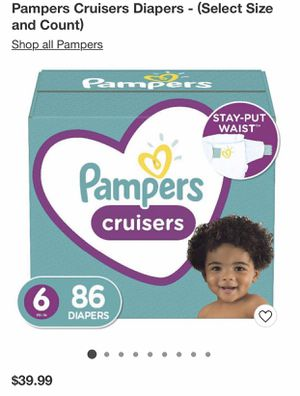 Size 6 diapers -84 for Sale in Arvada, CO