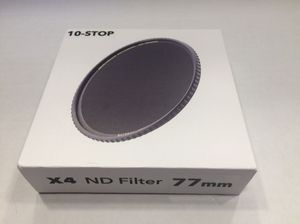 X4 77mm 10-stop Neutral Density filter for Sale in Chicago, IL