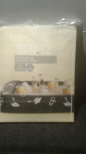 """Spritz Inflatable Serving Tray. 52 3/8"""" × 24 3/4. Graduation design. for Sale in Los Angeles, CA"""