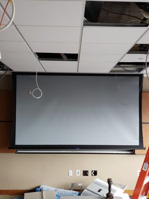 Da-lite HD motorized projector screens 2 for the price of 1 for Sale in Washington, DC