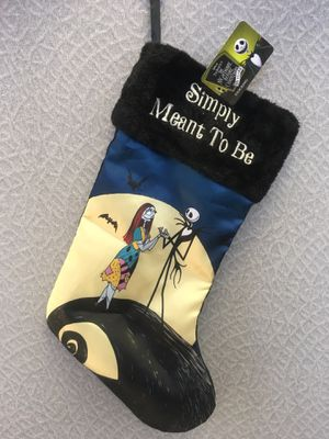 Tim Burton's The Nightmare Before Christmas 25 years Stocking for Sale in Los Angeles, CA