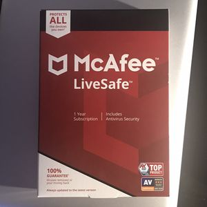 Antivirus McAfee Key Product for Sale in Los Angeles, CA