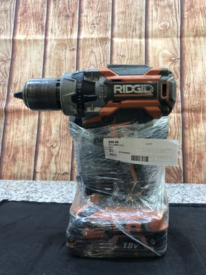 RIDGID Drill (CHARGER INCLUDED) for Sale in Tampa, FL