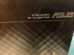 ASUS AC1900 RT-AC68P WIRELESS ROUTER for Sale in Riverside, CA