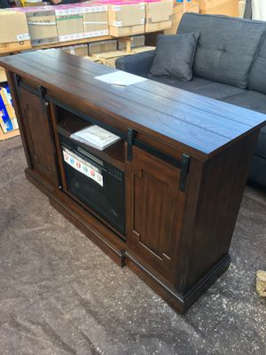 TV Stand with built in Fireplace for Sale in Hamilton Township, NJ