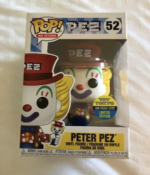 Ad Icons Funko Pop! 2019 SDCC Toy Tokyo Peter Pez for Sale in South Gate, CA