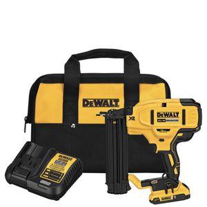 DeWalt 20v Cordless 18-Gauge Brad Nailer Kit w/ battery, charger + bag - Brand New for Sale in Neptune City, NJ
