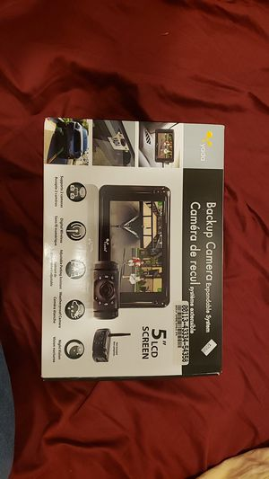 """Yada Backup Camera Expandable System with 5"""" LCD Screen for Sale in Miami Beach, FL"""