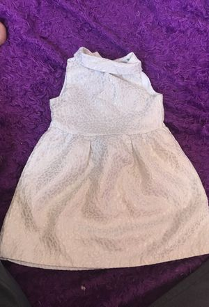 3t ivory and silver dress for Sale in Lodi, CA