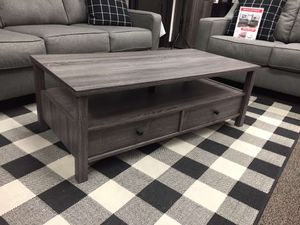 Skylar Coffee Table, Distressed Gray, SKU # 161564CT for Sale in Norwalk, CA