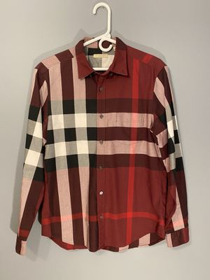 Burberry button down for Sale in White Bear Lake, MN