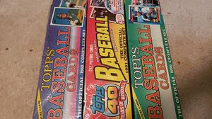 Tops baseball cards for Sale in San Diego, CA