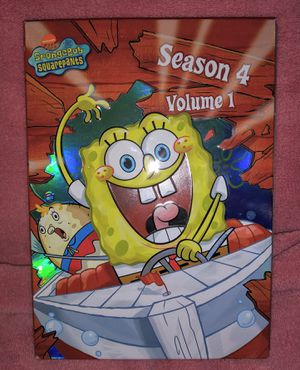 SpongeBob SquarePants - Season 4 DVD TV Series for Sale in Pinellas Park, FL