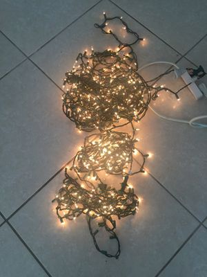3 piece Christmas light set for Sale in Miami, FL