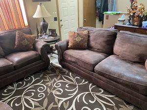 Pull out Sofa bed and Love seat for Sale in Wichita, KS