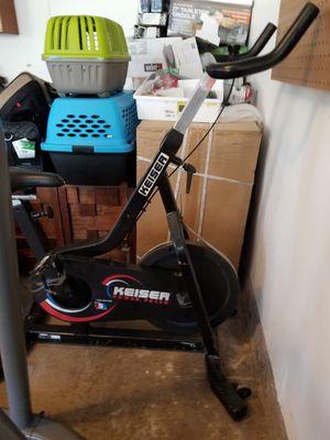 Keiser spinner bike for Sale in Fort Worth, TX