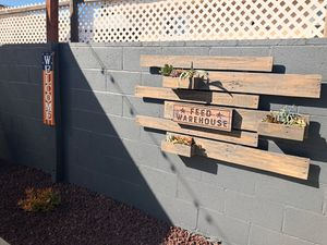 Reclaimed Wood Succulent Wall Planter for Sale in Claremont, CA