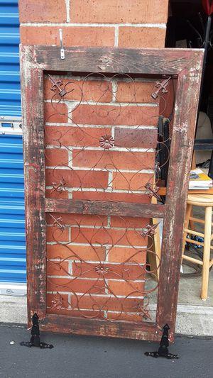 Custom gate or accent piece for Sale in Auburn, WA