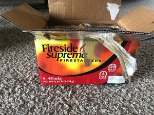 Fire starter sticks for Sale in Coppell, TX