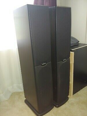 Polk audio home speakers sound amazing lookin to trade for car 12 inch subs n games 5 $ per one for Sale in Spring Valley, CA