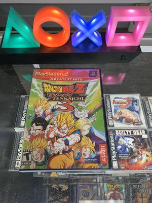 Dragonball Z budokai Tenkachi 3 $100 Gamehogs 11am-7pm for Sale in East Los Angeles, CA