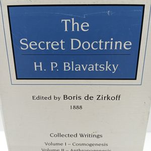 Vintage 1888 The Secret Doctrine by H.P. Blavatsky for Sale in Waterbury, CT