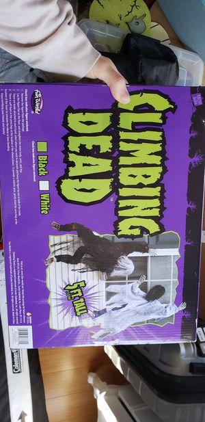Climbing dead Halloween decor for Sale in Arlington, VA