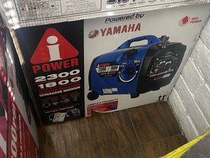 Brand new Yamaha 2300 watts inverter generator only asking $550 for Sale in La Habra, CA
