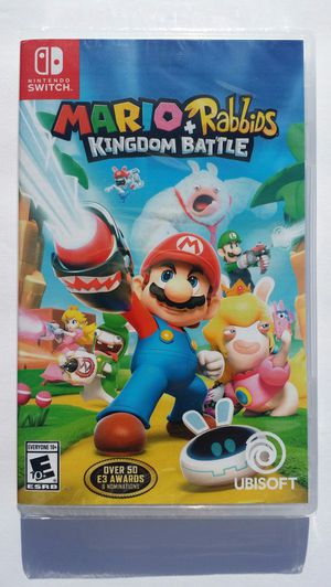 Mario + Rabbids Kingdom Battle (Nintendo Switch) Game Brand New Unopened Sealed Look for Sale in Modesto, CA