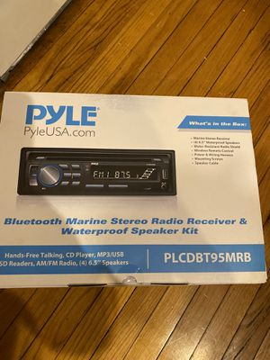 Bluetooth Marine Stereo for Sale in Poughkeepsie, NY