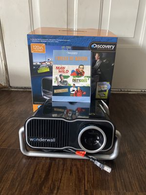 Discovery wonder wall projector. Bonus DVD Included! for Sale in San Antonio, TX