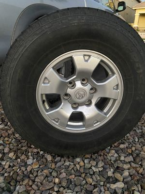 Wheels and tires Toyota truck for Sale in Queen Creek, AZ