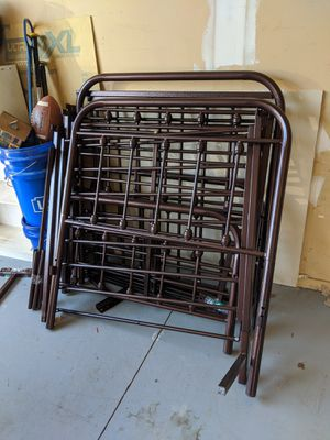 2 twin bed frames for Sale in Clinton Township, MI