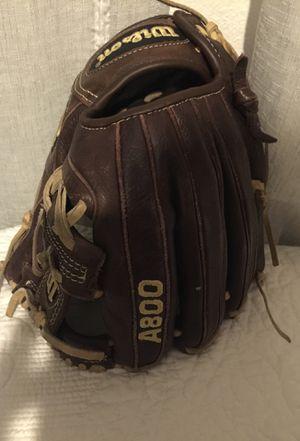 Wilson A 800 baseball glove for Sale in Clovis, CA