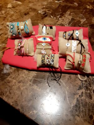 hadmade bracelets different Prices... for Sale in San Leandro, CA