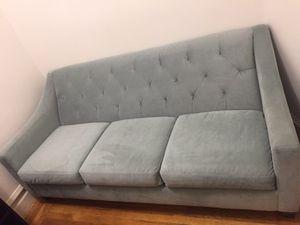 Tufted velvet sofa for Sale in San Francisco, CA