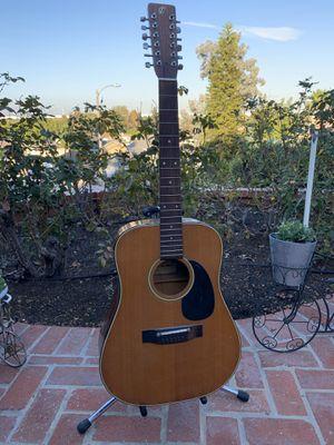 12 string acoustic guitar for Sale in Rancho Palos Verdes, CA