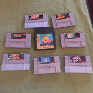 Super Nintendo Games for Sale in Baldwin Park, CA
