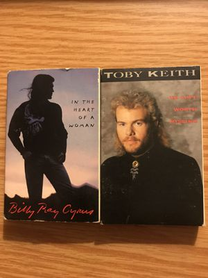 BILLY RAY CYRUS TOBY KEITH CASSETTE TAPE SINGLE LOT COUNTRY for Sale in CAPE ELIZ, ME