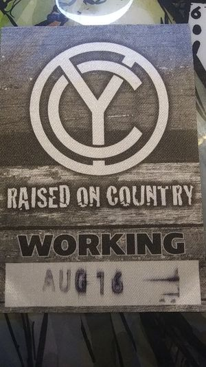 Chris Young Working Pass for Sale in Glendale, AZ