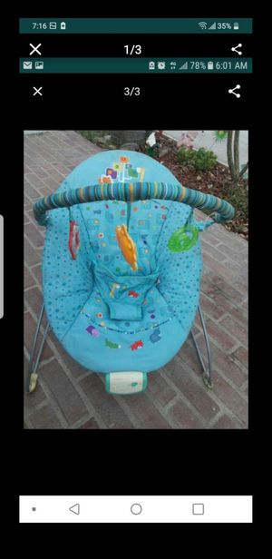 Baby Bouncer chair for Sale in Baldwin Park, CA