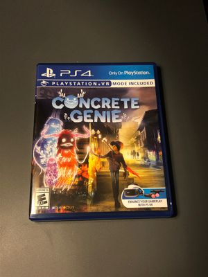 Concrete genie Ps4 for Sale in Union City, CA