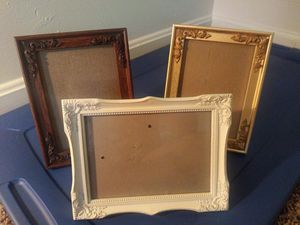 Lot of 3 ornate frames for Sale in Lexington, KY