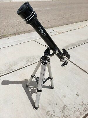 MEADE 60AZ-D TELESCOPE WITH TRIPOD, EYEPIECES, STORAGE BAG & ELECTRONIC EYEPIECE for Sale in Costa Mesa, CA